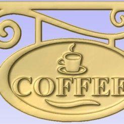 Descargar archivo 3D gratis Signo de café, Cult99