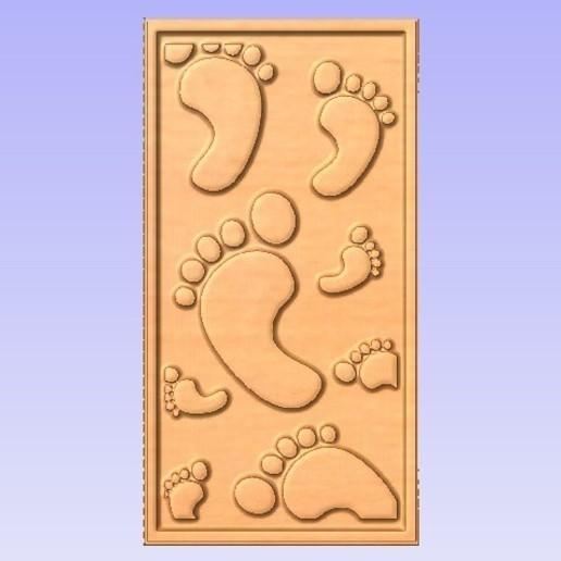 Download free 3D printing designs Decor Panel, Cult99