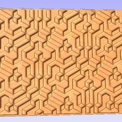 Download free 3D printer files 3D Relief Panel, cult99