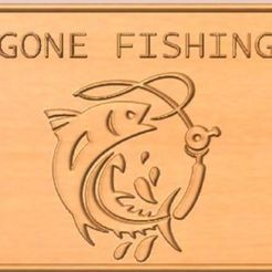 Download free STL files Gone Fishing, cult99