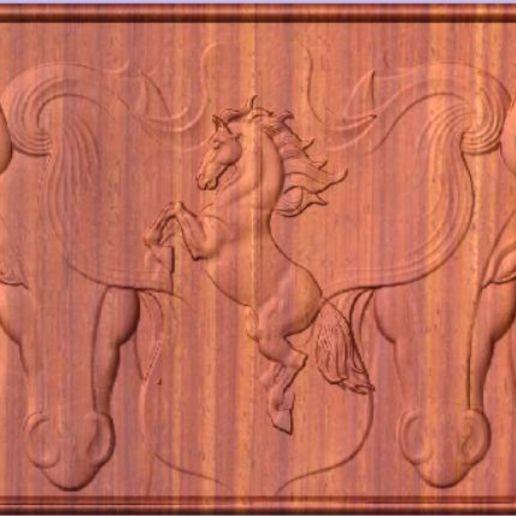 Download free 3D printing files Horses, cult99