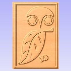Télécharger fichier impression 3D gratuit Hibou, Cult99