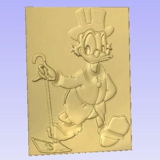 Scrooge.jpg Download free STL file Scrooge • 3D printing model, Cult99
