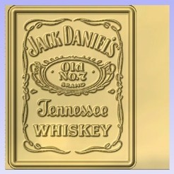 Download free 3D printing designs Jack Daniels Whiskey ii, Cult99