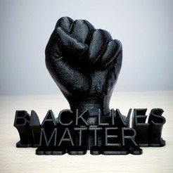 Download free STL file Black lives matter, ZIndustries