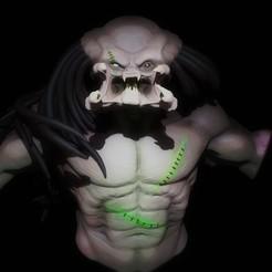 Imprimir en 3D Depredador - Predator , Serendipia