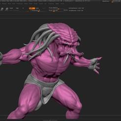 Download free 3D model Predator - Predator - Monsters - ZBrush, yi_laloka_22
