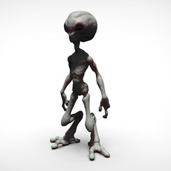 Download 3D printing models gray alien, Serendipia