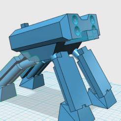QQ截图20200823122804.png Télécharger fichier STL gratuit Un char lourd de la planète X3 • Design à imprimer en 3D, zhblue