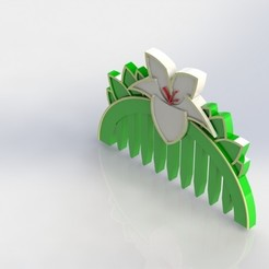 Download free 3D printer model Mulan Comb, JefTeck
