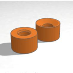 Télécharger fichier STL gratuit Roue de patin à roulettes quadruple • Objet pour imprimante 3D, projectileobjects