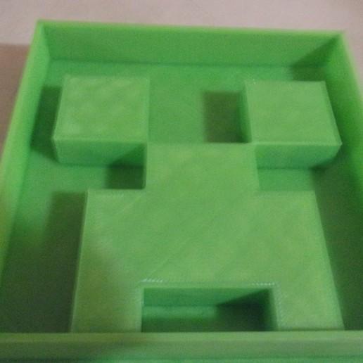 101_6201.JPG Download free STL file Minecraft Creeper Cookie Cutter • 3D print model, waymanhyrum542