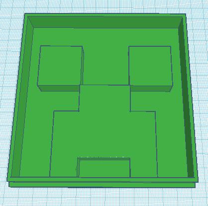 Screenshot 2019-10-23 at 7.57.36 PM.png Download free STL file Minecraft Creeper Cookie Cutter • 3D print model, waymanhyrum542
