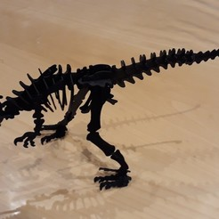 Descargar archivos 3D gratis Allosaurus 3D Puzzle Construction Kit , jonathanb