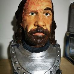 Download 3D printer designs Sandor Clegane aka The Hound from Game of Thrones - 3d print model, bust, portrait, steven-theriault