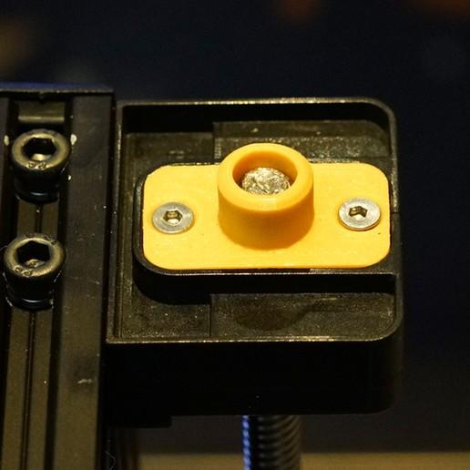 Download free 3D printer model Creality CR-10 Z Shaft Cover V.1, Double_Alfa_3D