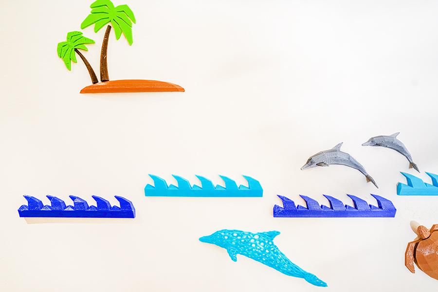 DSC00617.JPG Download free STL file Marine Life Wall Project • 3D printer template, Double_Alfa_3D