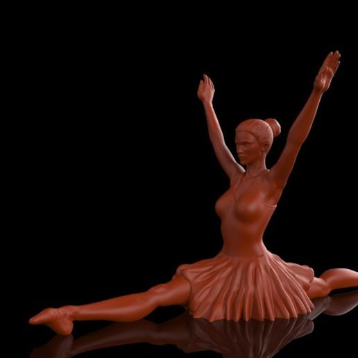 Download free 3D printer designs Ballet Dancer II, Double_Alfa_3D