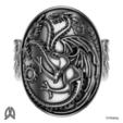 Télécharger fichier imprimante 3D gratuit Jeu des Trônes - Bague Targaryen, Double_Alfa_3D
