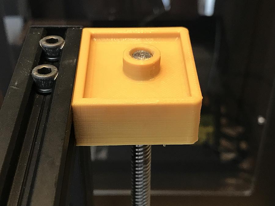 IMG_2484.JPG Download free STL file Creality CR-10 Z Shaft Housing V.2 • 3D printing design, Double_Alfa_3D