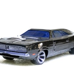 Charger_6.jpg Download free STL file Dodge Charger 1969 • Model to 3D print, Double_Alfa_3D