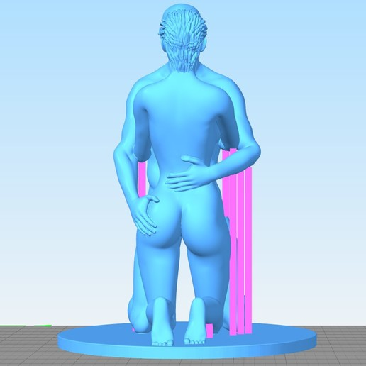 Love-Support-Back.jpg Télécharger fichier STL gratuit Amour • Design pour impression 3D, Double_Alfa_3D