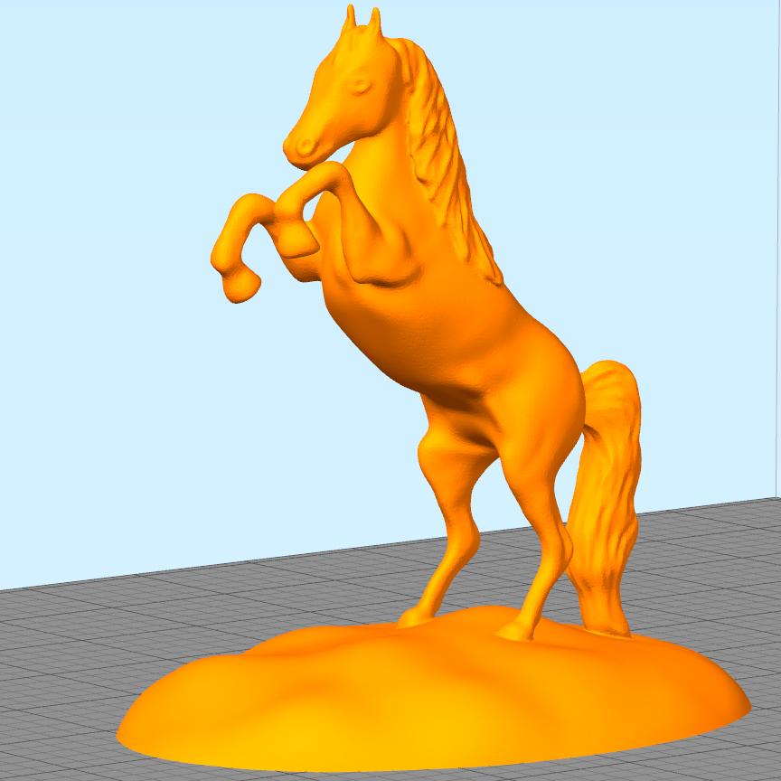 Arabian_Horse.jpg Download free STL file Arabian Horse Desk Stand • 3D printing template, Double_Alfa_3D