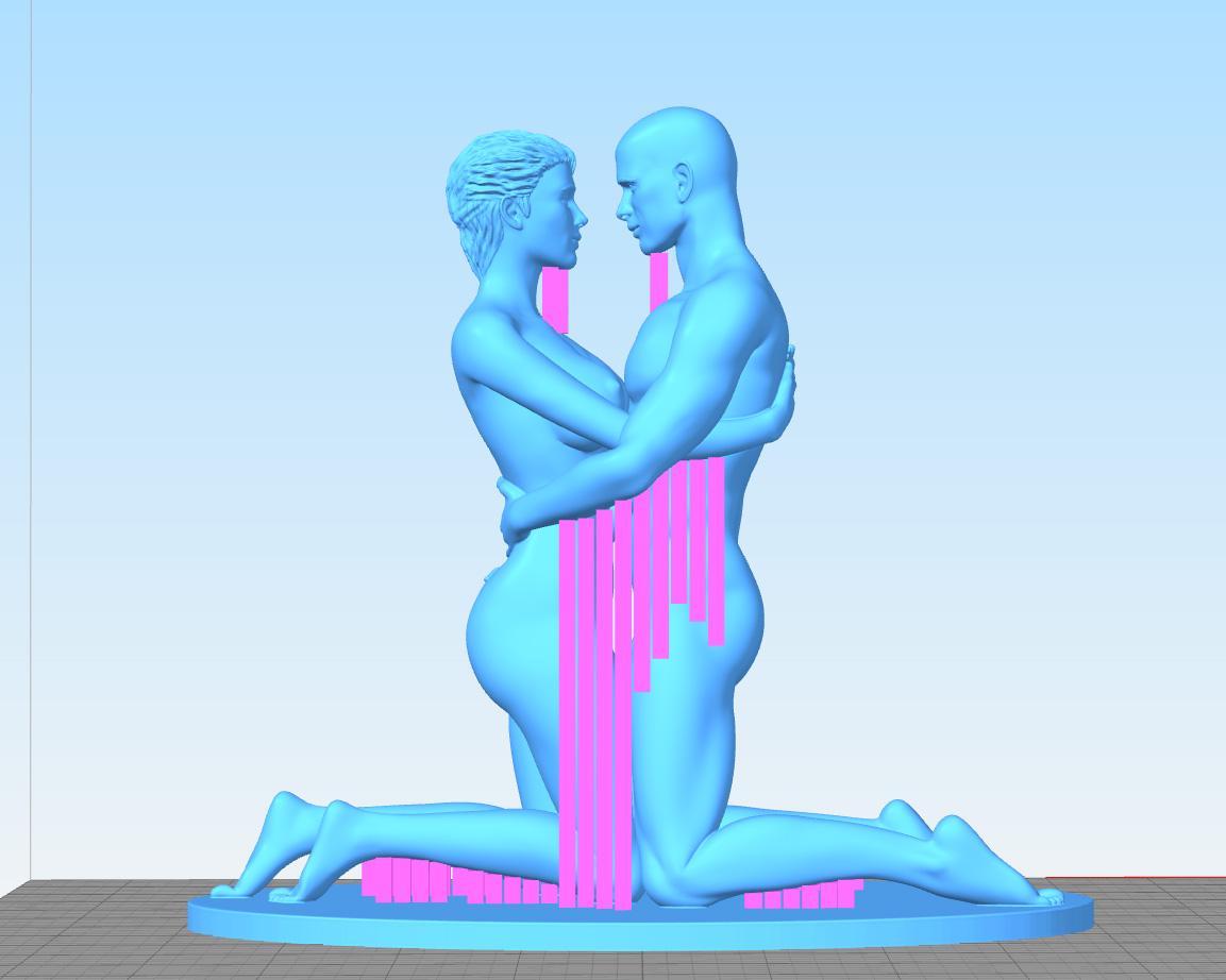 Love-Support-Left.jpg Télécharger fichier STL gratuit Amour • Design pour impression 3D, Double_Alfa_3D