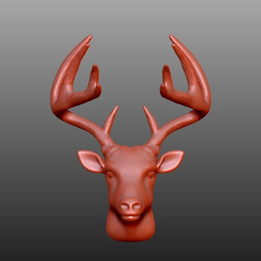 Download free 3D printing models Animals Head Project, Double_Alfa_3D