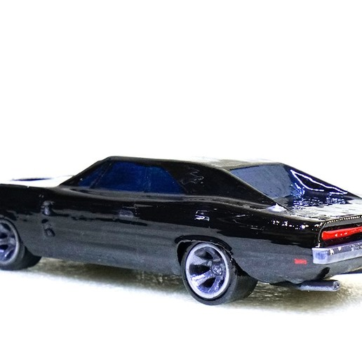 Charger_7.jpg Download free STL file Dodge Charger 1969 • Model to 3D print, Double_Alfa_3D