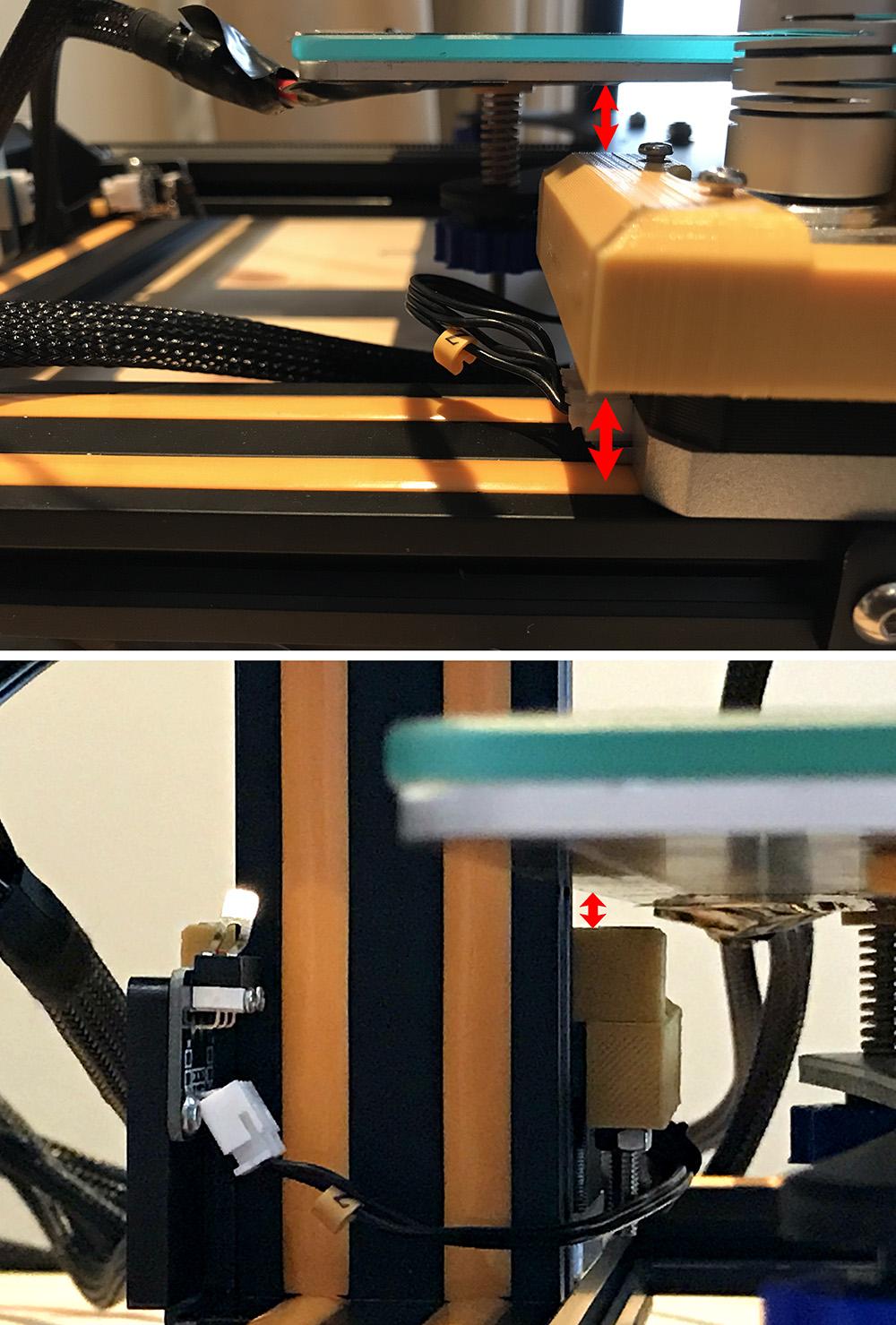 Distance_to_Platform.jpg Download free STL file Creality CR-10 Z Motor Bracket • 3D printing design, Double_Alfa_3D