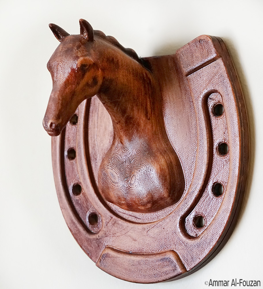 Horse.jpg Download free STL file Horse Wall Mount • 3D printable design, Double_Alfa_3D