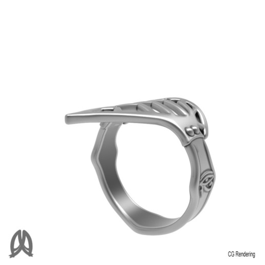 Assassin_Creed_Ring_Perspective_View.jpg Download free STL file Assassins Creed Ring • Object to 3D print, Double_Alfa_3D