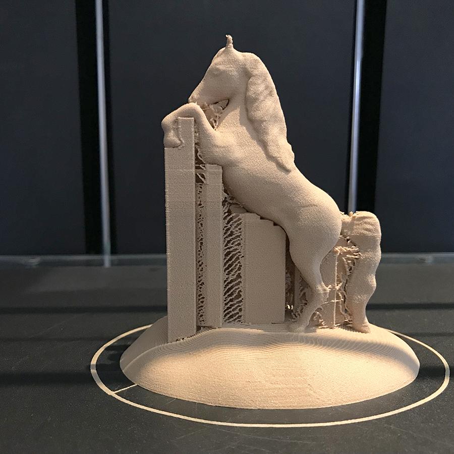 IMG_2485.JPG Download free STL file Arabian Horse Desk Stand • 3D printing template, Double_Alfa_3D