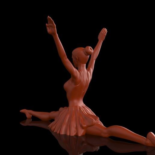Ballet_Dancer_2.jpg Download free STL file Ballet Dancer II • 3D print object, Double_Alfa_3D