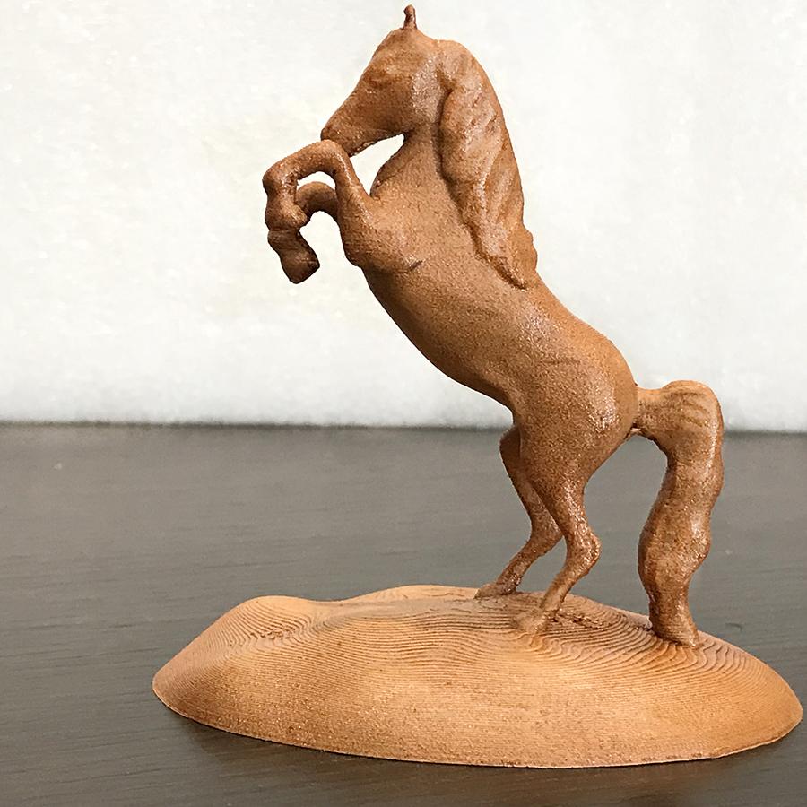 IMG_2491.JPG Download free STL file Arabian Horse Desk Stand • 3D printing template, Double_Alfa_3D