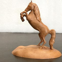 Download free 3D printing models Arabian Horse Desk Stand, Double_Alfa_3D