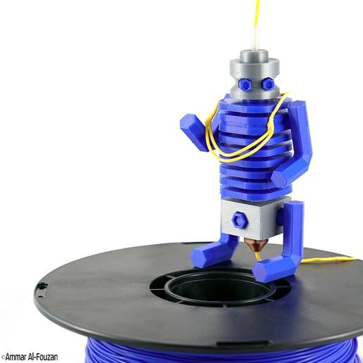 Download free 3D printing models Mr. Hot, Double_Alfa_3D