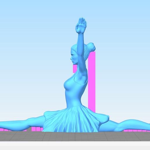 Ballet_Dancer_II.jpg Download free STL file Ballet Dancer II • 3D print object, Double_Alfa_3D