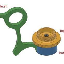 assembly.jpg Télécharger fichier STL Stand de peinture miniature • Objet pour imprimante 3D, SaydamCustomShop