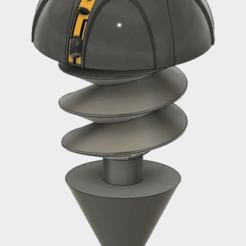 model2.png Descargar archivo STL Perno Gigante de Hierro • Diseño para la impresora 3D, SaydamCustomShop