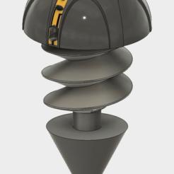 model2.png Download STL file Iron Giant Bolt • 3D printing template, SaydamCustomShop
