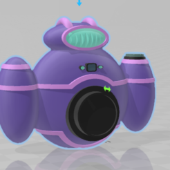Download 3D printing files Futurama Camera, B1nkfish