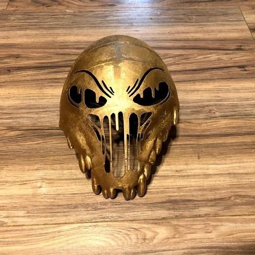 Download 3D printing templates Slime Mask V2, B1nkfish