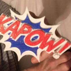 Download free 3D print files Kapow Knuckles, B1nkfish