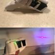 IMG_0434_1.PNG Download STL file Laser Gun • 3D printable template, B1nkfish