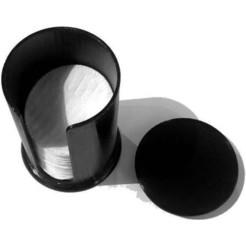 SupportDisquesRonds_59mm_01.jpg Download free STL file Makeup remover disc dispenser / Makeup remover disc dispenser • 3D print design, phiphila