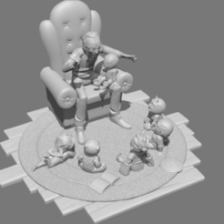 Télécharger fichier STL Stan lee et les kids • Design pour impression 3D, tone2d