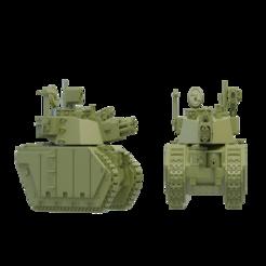 Imprimir en 3D gratis Tanque de batalla mediano de clase Raptor, Xplosiv