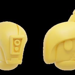 Descargar Modelos 3D para imprimir gratis El comunista espacial quemó el casco de las tropas, Xplosiv